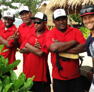 FSA team help Volcom and ASP crew for 2013 Volcom Fiji pro