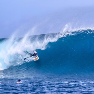 Tony Philp junior at Cloudbreak. Image by Scott Winer